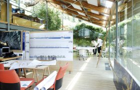 Working Spaces - <p>RENZO PIANO BUILDING WORKSHOP, Genova, Italy</p>